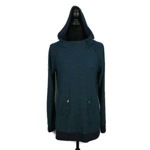 ROXY Cowl Neck Pullover Hoodie XL